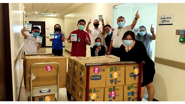 SM FOUNDATION DONATES PPEs TO CENTRAL LUZON HOSPITALS