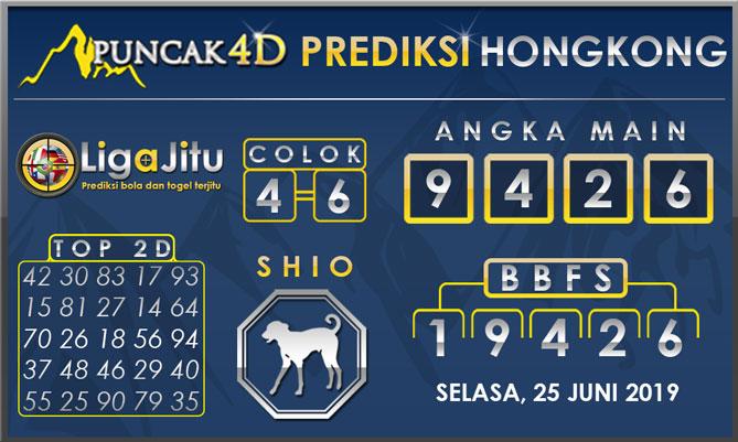 PREDIKSI TOGEL HONGKONG PUNCAK4D 25 JUNI 2019
