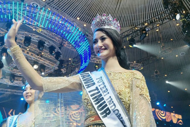 Ayu Maulida Putri dari Jawa Timur Jadi Pemenang Puteri Indonesia 2020