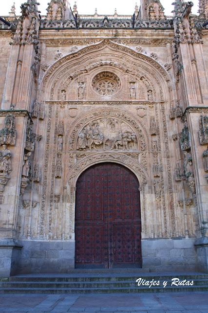 Portada de Ramos de la Catedral nueva de Salamanca