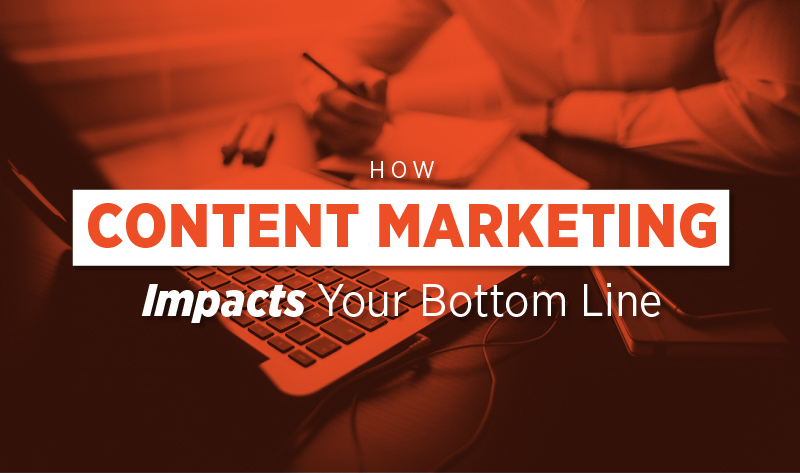 How Content Marketing Impacts Your Bottom Line - #Infographic