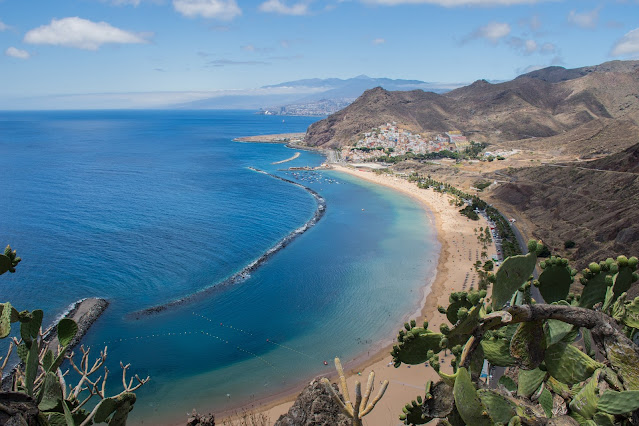 Tenerife A Hiker and Mountain Biker Paradise, beach