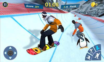 Snowboard Master 3D MOD APK Terbaru
