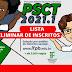 Divulgada a lista preliminar de inscritos no PSCT 2021.1
