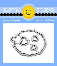 Sunny Studio Stamps Hedgey Holidays Metal Cutting Dies Set