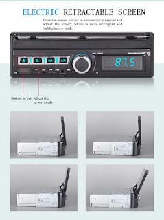 "1 DIN 7"" AUTORADIO MP5 GPS 7110GM"
