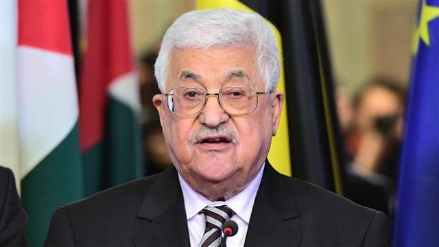 Palestinian President Mahmoud Abbas calls for end to Israeli settlement construction