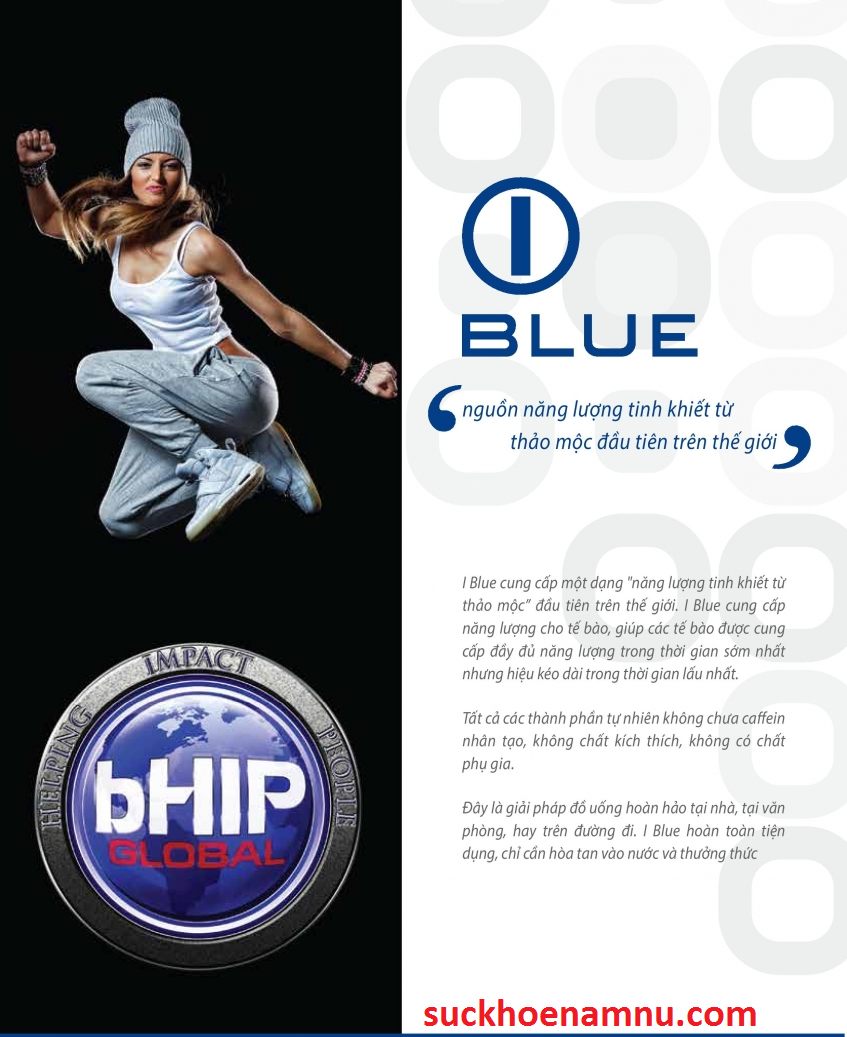IBlue - Hỗ trợ giảm cân, đánh tan mỡ bụng