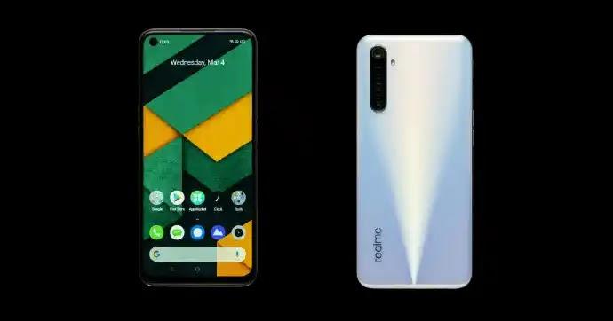 5 Best Smartphones Under 40000 in Pakistan [Real me 6]