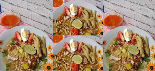 cara membuat soto ayam bening enak dan sederhana
