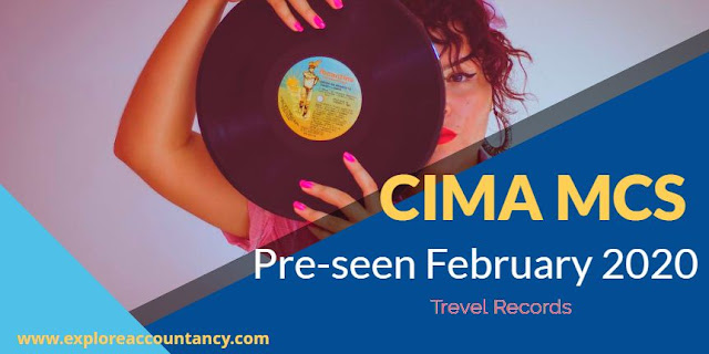 CIMA MCS February 2020 Pre-seen released - Management case study