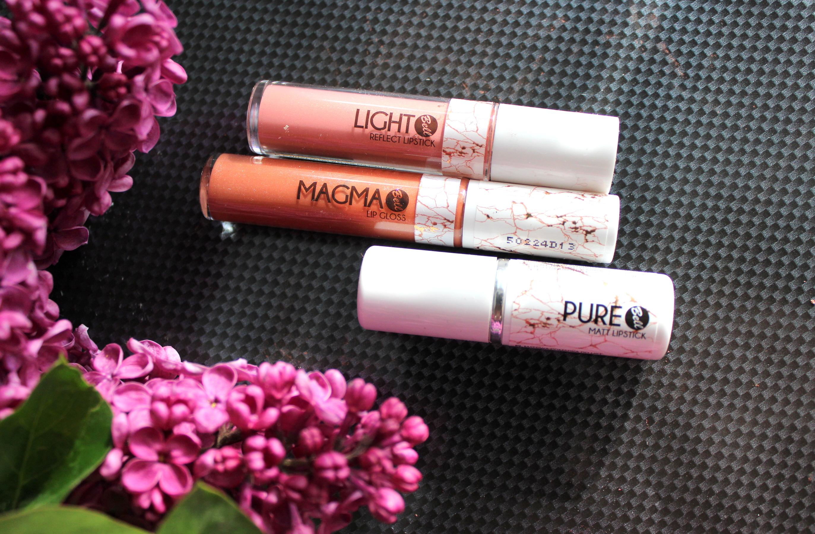 Bell Cosmetics LIGHT REFLECT LIPSTICK, MAGMA LIP GLOSS