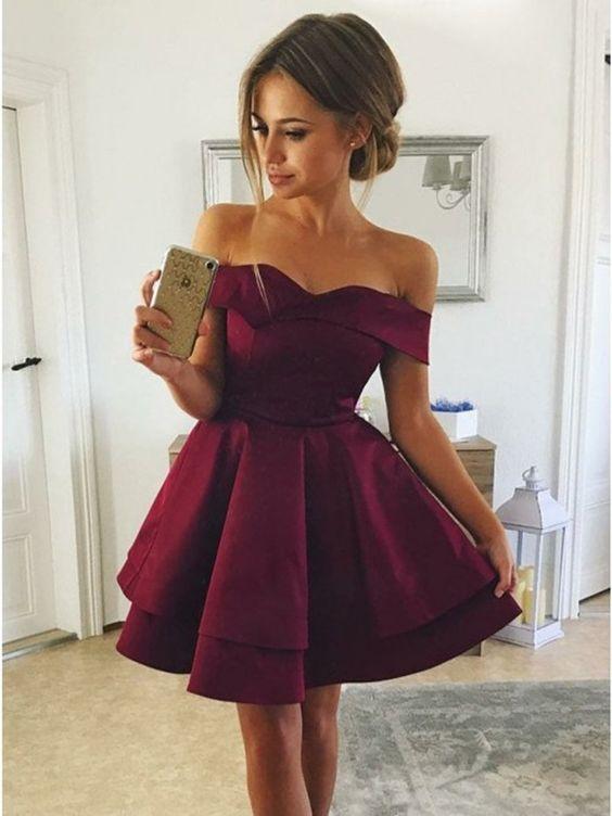 cute off shoulder dress for everyone