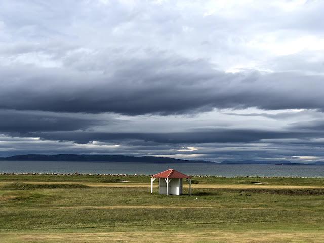 Sääsuoja Nairn Dunbar kentällä Skotlannissa