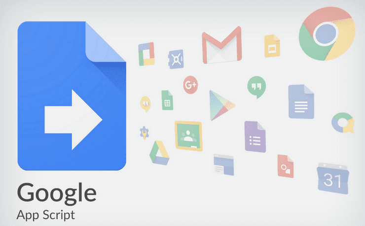 Google services icons