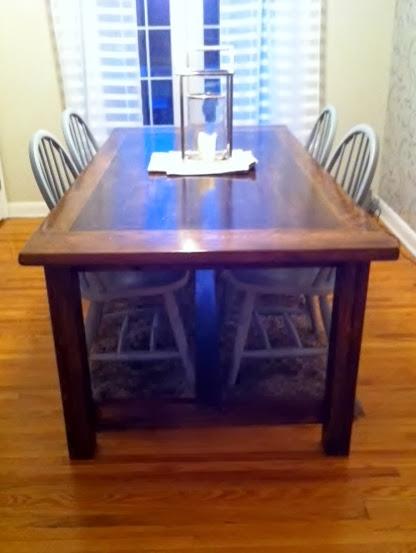 Fay Grayson Home Diy Pine Farm Table