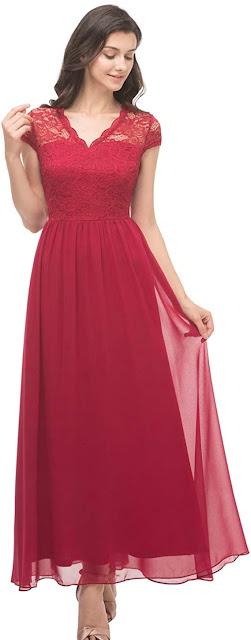 Best Lace Chiffon Bridesmaid Dresses