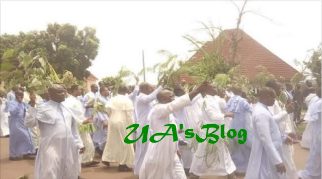 Catholic priests hit Enugu streets to protest 'attacks by herdsmen'