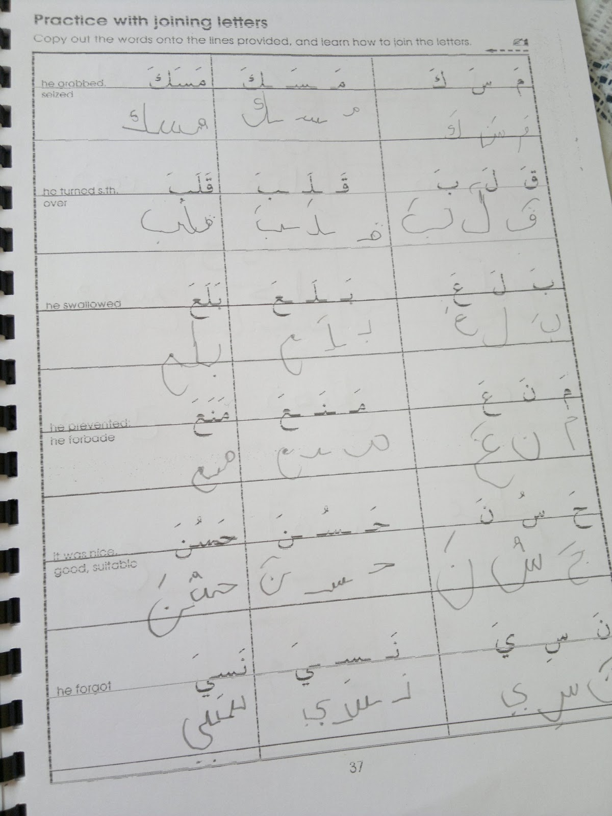 Umm Maimoonah S Journal Arabic Progress