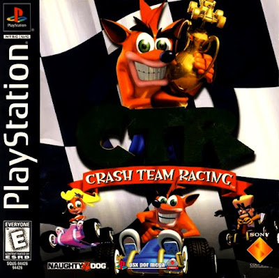 descargar crash team racing CTR psx mega