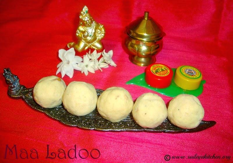 images for Maa Ladoo Recipe /  Maaladoo Recipe / Maladu Recipe / Pottukadalai Ladoo / Roasted Gram Laddu / Porikadalai Urundai