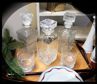 Bottiglia whisky cristallo