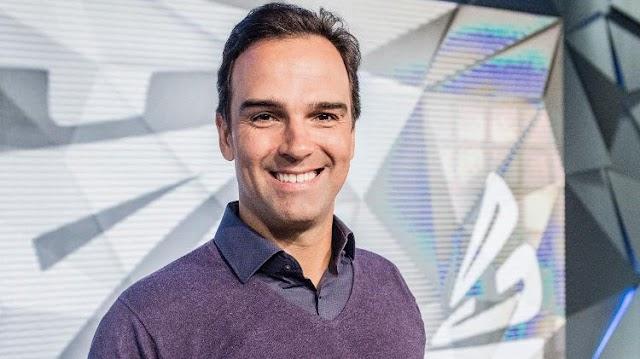 Tadeu Schmidt é o novo apresentador do BBB