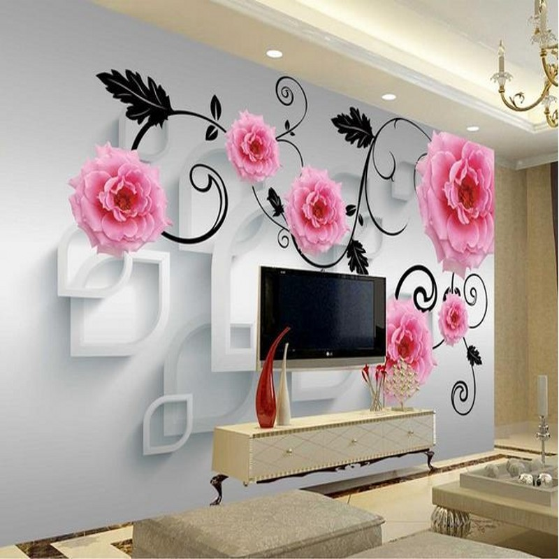 Top 25 amazing 3d wallpaper stickers decor units for Decor mural adhesif