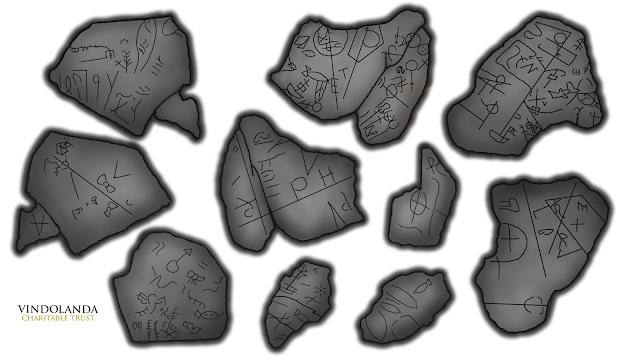 5th century chalice with Christian symbols found at Vindolanda