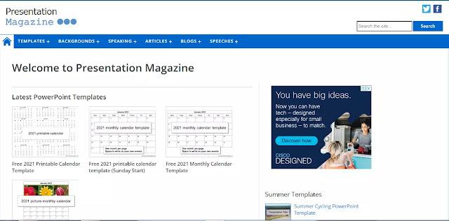 Presentasi Magazine