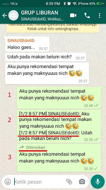 Cara copy Chat Whatsapp 3