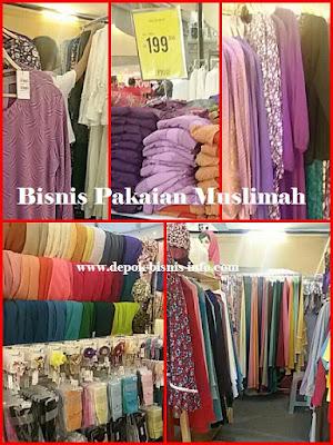 Bisnis, Info, Pakaian, Muslim, Muslimah, Omset, Besar, Ratusan Juta