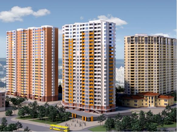 Жилой комплекс 4 сезона в Киеве
