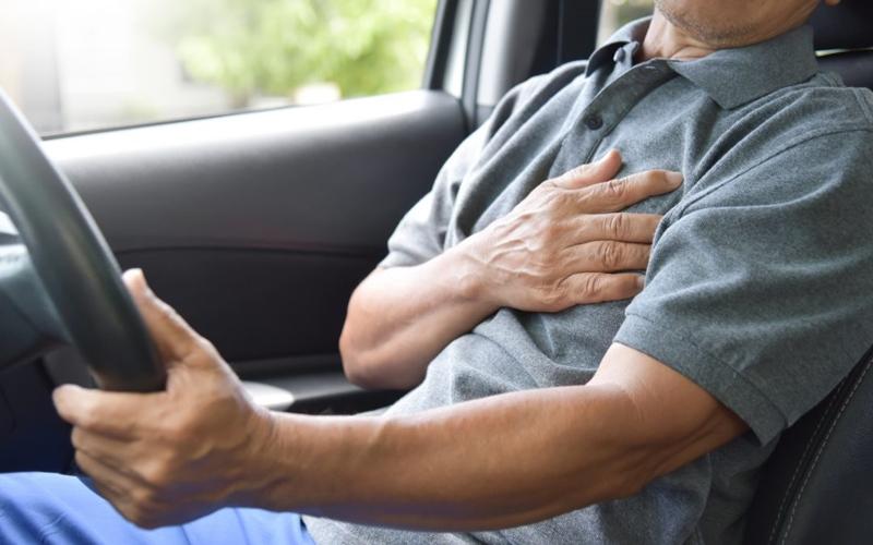 Trafikte ani kalp krizi riskine dikkat!