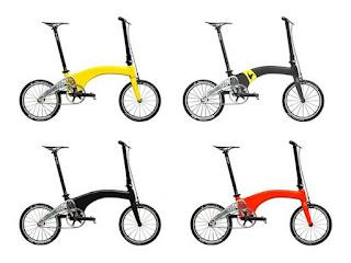 Hummingbird Bike Company, Hummingbird Carbon Fiber folding Bike