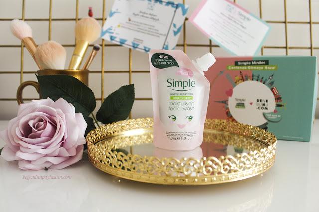imple Moisturising Facial Wash-Nemlendirici Yüz Temizleme Jeli