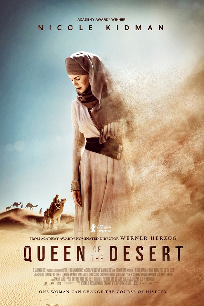 Póster: Queen of the desert