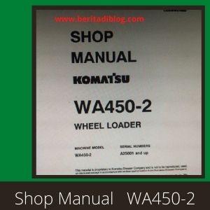 WA450-2 shop manual wheel loader komatsu