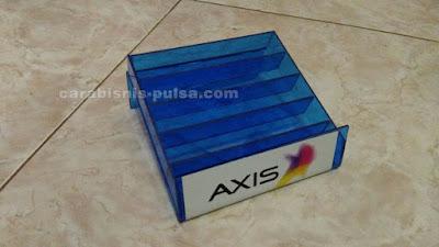 Tempat Perdana Warna Logo Operator warna Biru Axis