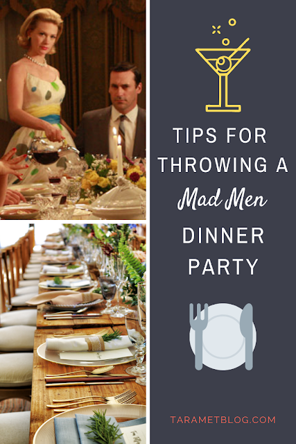 Tips for Throwing a Mad Men Style Retro 50s Dinner Party
