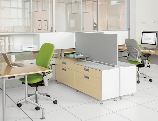 best buy oak and white modular office furniture for sale