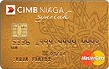 CIMB Niaga Master Card Syariah Gold