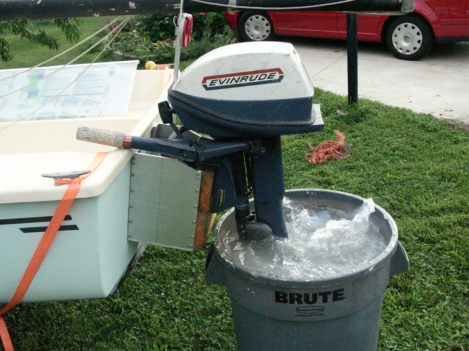 Robert's Projects: 1970 Evinrude 6hp Outboard Motor