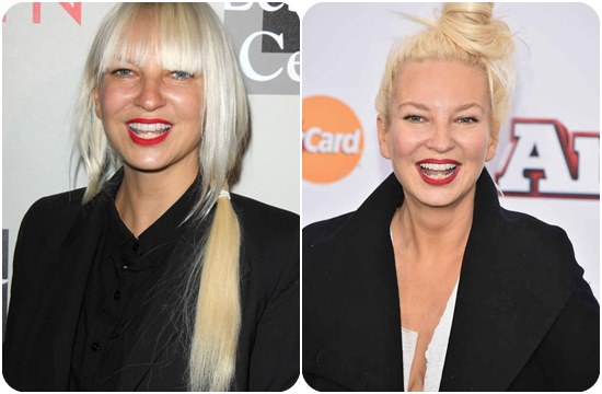 Sia Face and Images