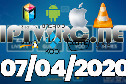Daily iptv m3u playlist 07 April 2020