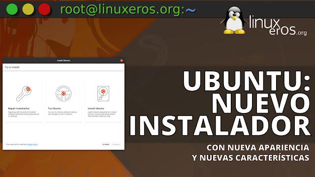 Ubuntu tendrá nuevo instalador con Flutter