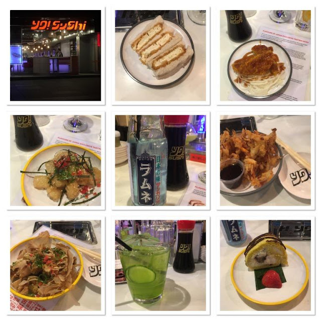 new menu dishes on offer at yo sushi