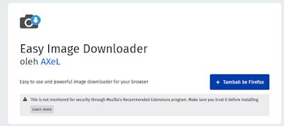 Tekan Tambah ke Firefox
