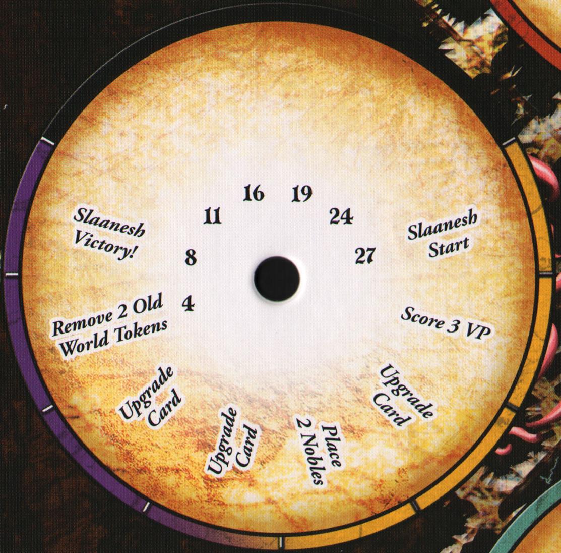 Slaanesh's dial