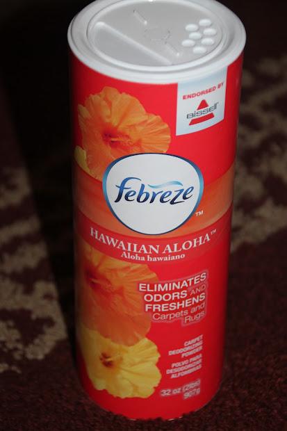 Susan' Disney Family Bissel Febreze Hawaiian Aloha Carpet Deodorizer